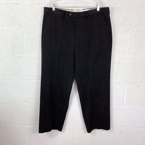 Tommy Bahama Sz 36 Black Charcoal Mens Dress pants